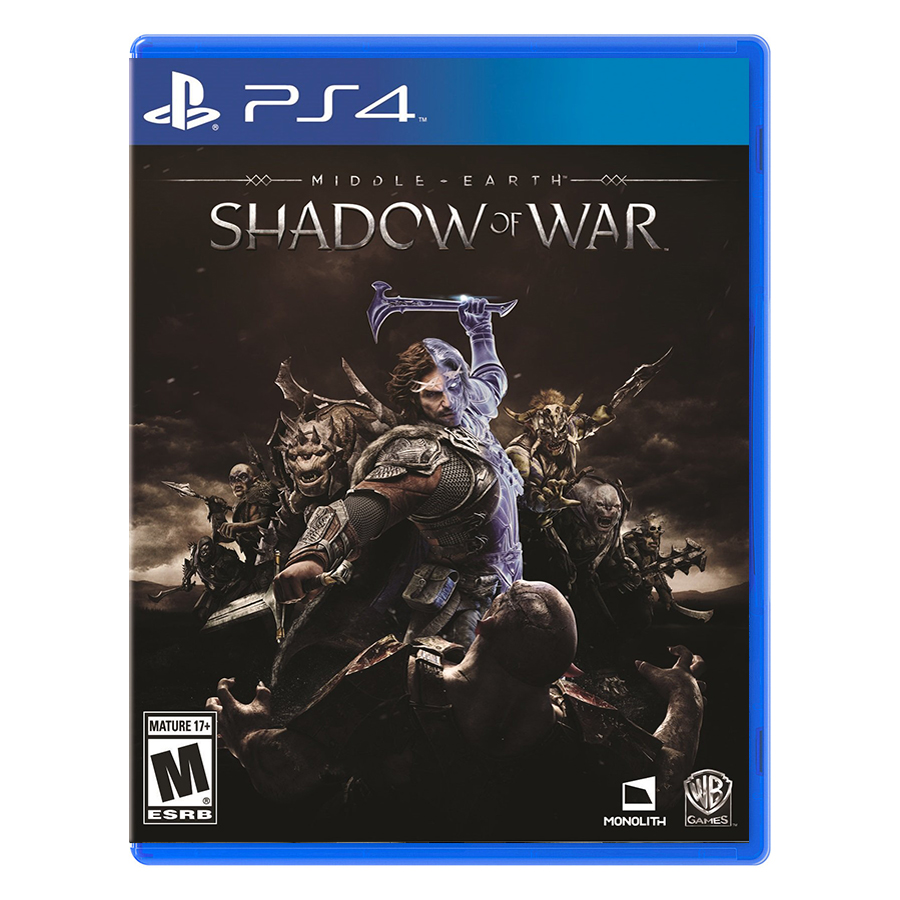 Đĩa Game PlayStation PS4 Sony Middle-Earth: Shadow Of War Hệ Asia