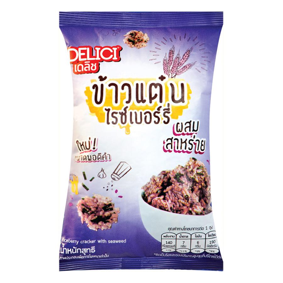 Bánh Gạo Delici Thái Lan Vị Rong Biển (30g)