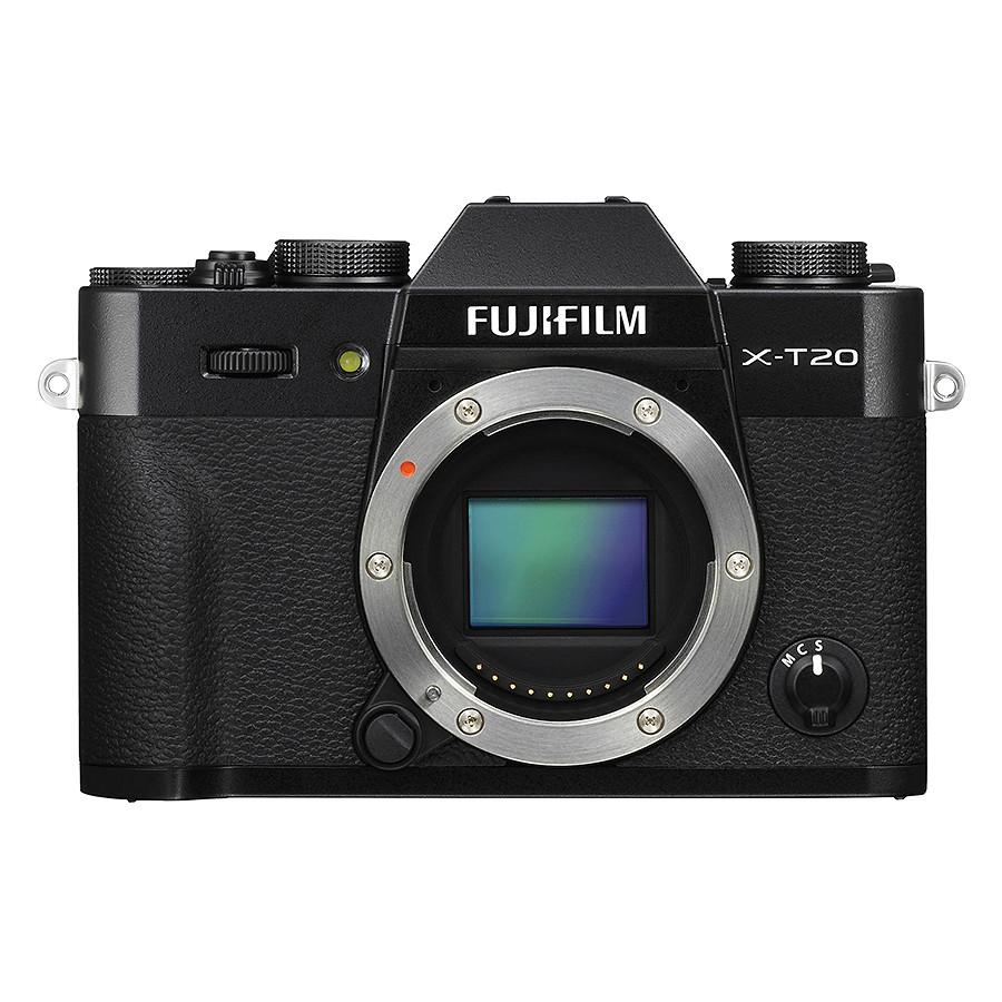 Máy Ảnh Fujifilm X-T20 Kit XC16-50mm f3.5-5.6 OIS (Đen) + Thẻ Nhớ Sandisk 16GB Tốc Độ 48MB/s + Túi Đựng Máy Ảnh Fujifilm