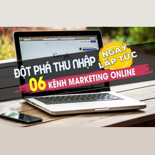 KYNA - Khóa Học Đột Phá Thu Nhập 06 Kênh Marketing Online Ngay Lập Tức