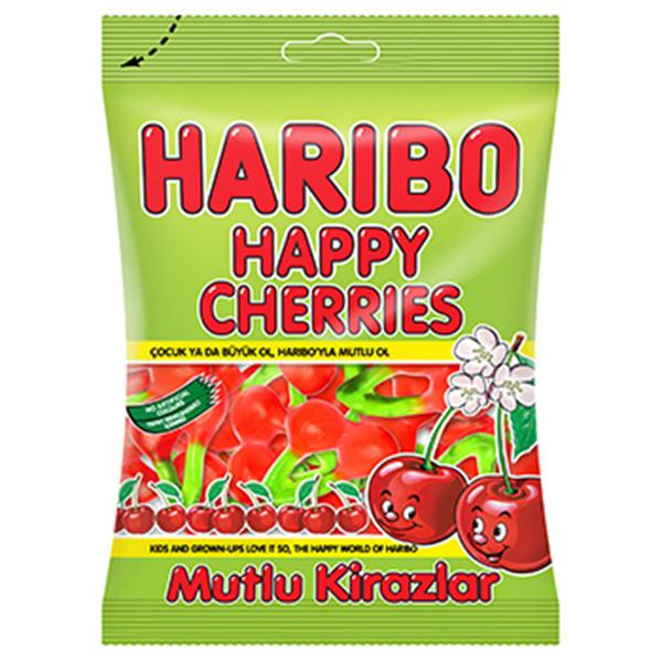 Kẹo Dẻo Haribo Happy Cherries (80g)
