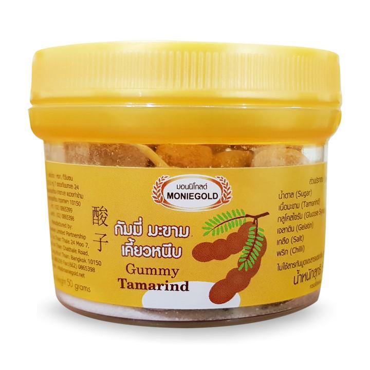 Kẹo Me Dẻo Thái Lan MonieGold 50g Vị Truyền Thống Nhập Khẩu