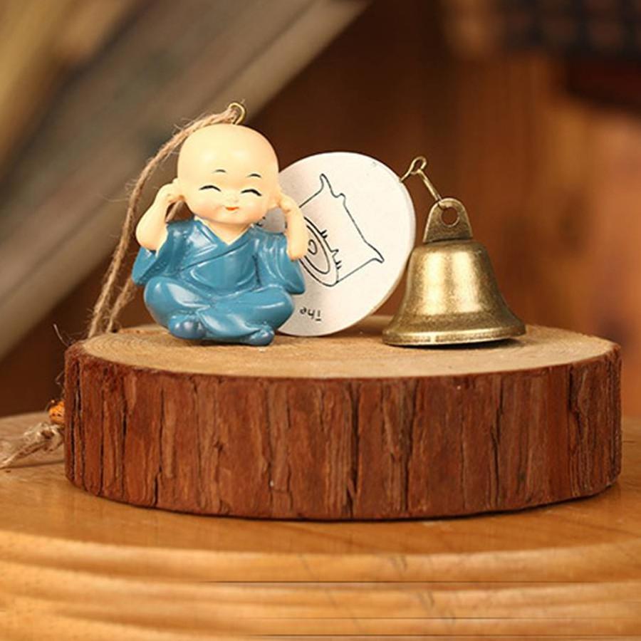 Chuông Gió Kiểu Tượng Phật Phong Thủy Tứ Không