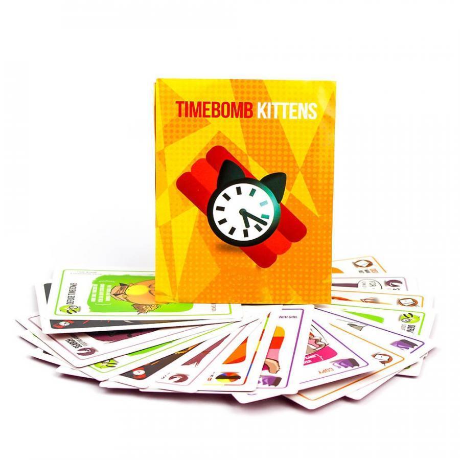 Board Game Mèo Nổ Bản Mở Rộng 4 -Timebomb Kittens