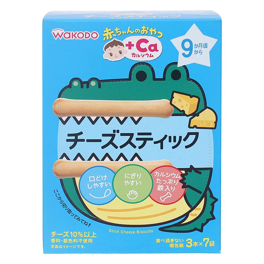 Bánh Quy Phô Mai Que Wakodo AO13 (50g)