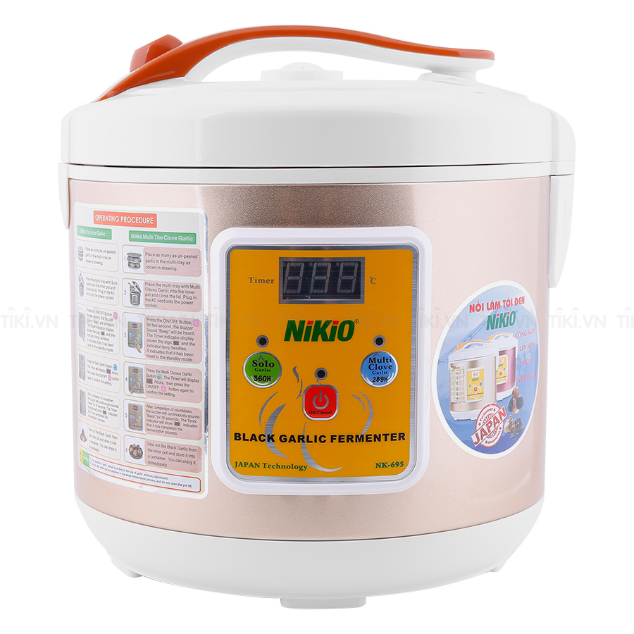 Nồi làm tỏi đen Nikio NK-695 (5L)