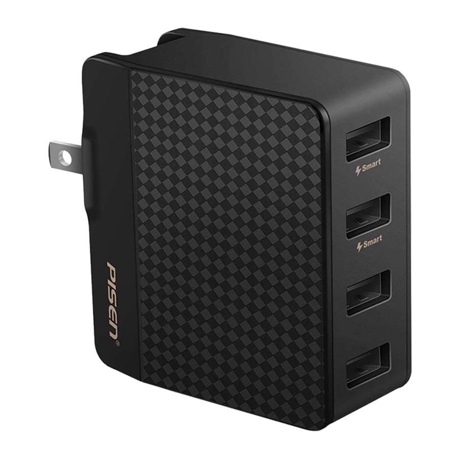 Adapter Sạc Đa Năng Pisen Charger 4 Cổng USB