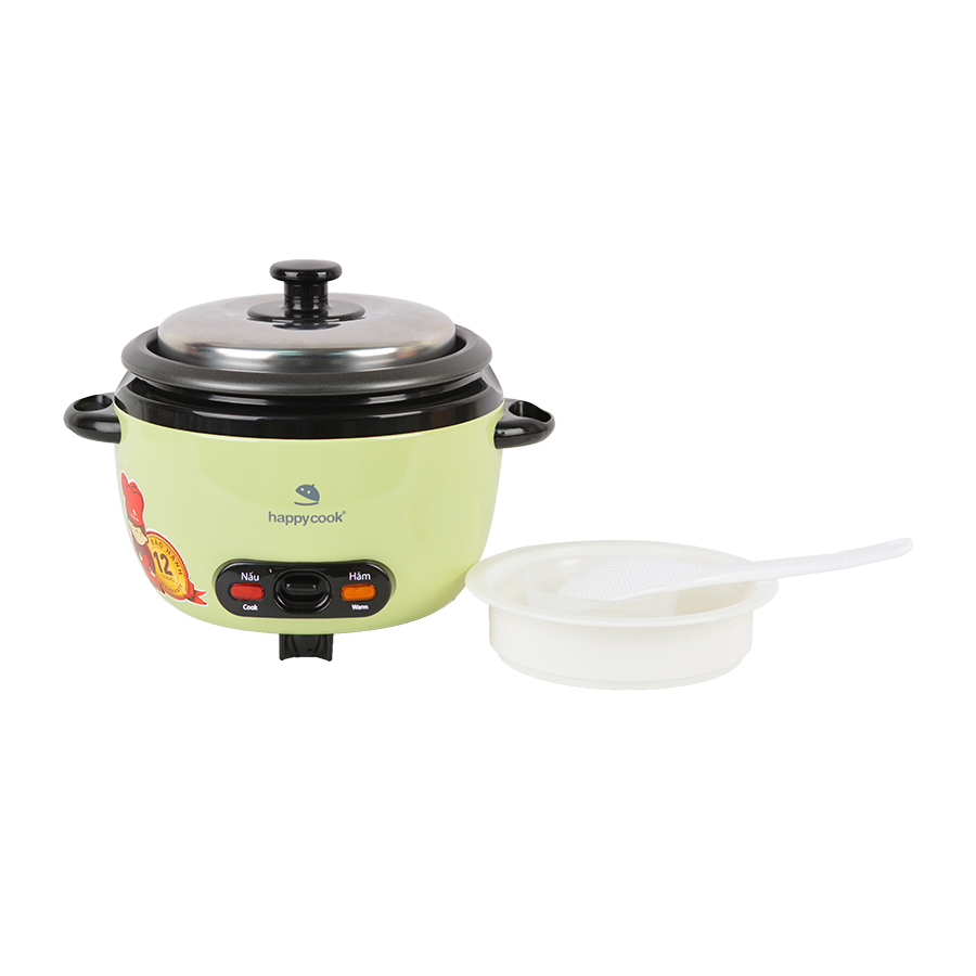 Nồi Cơm Điện Nắp Rời Cơ Happy Cook HCD-061A (0.6L)