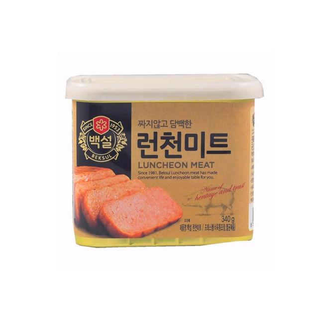 Thịt Hộp Luncheon 340 Gram từ CJ FOODS - Nhập Khẩu Hàn Quốc