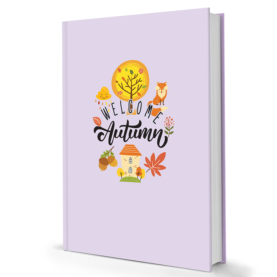 Sổ Tay Notebook Minh Long - Welcome Autumn