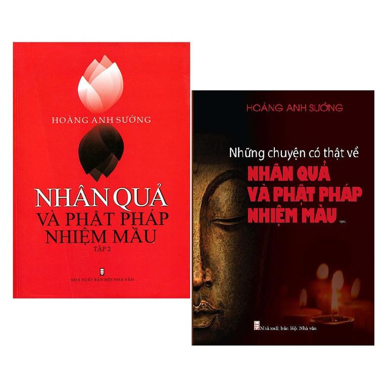 Combo 2 tập Nhân quả và Phật Pháp nhiệm màu - Hoàng Anh Xướng