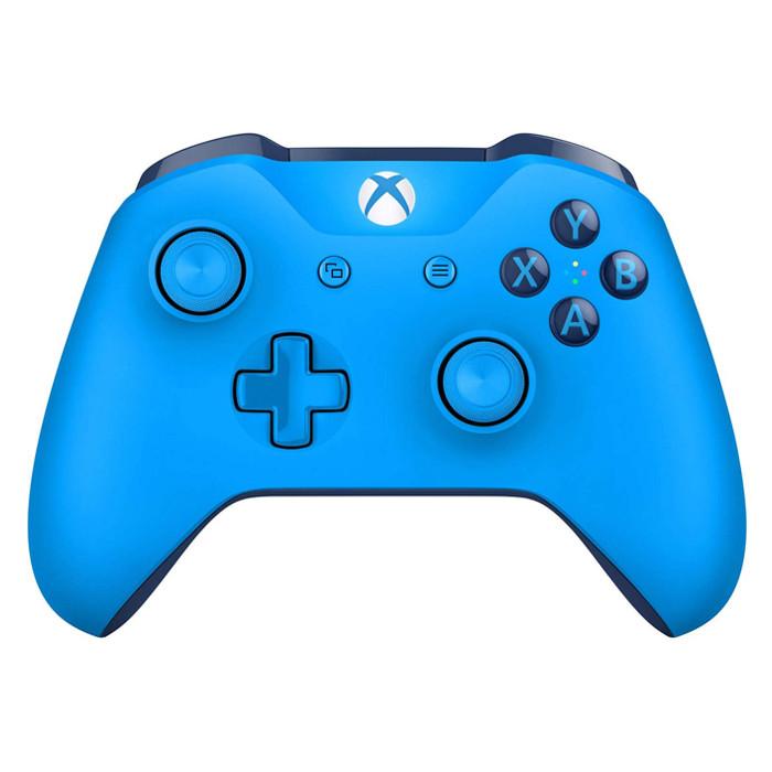 Tay Cầm Xbox One S Blue Kèm Cable - Hàng Chính Hãng