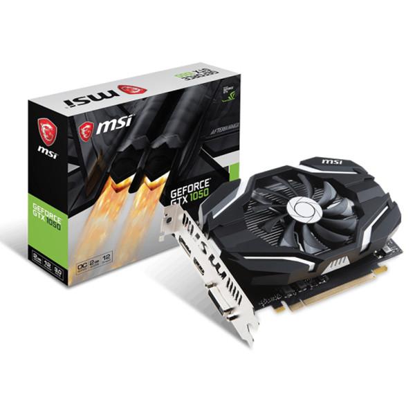 Card Màn Hình MSI GeForce GTX 1050 2G OCV1 GDDR5  - Hàng Chính Hãng