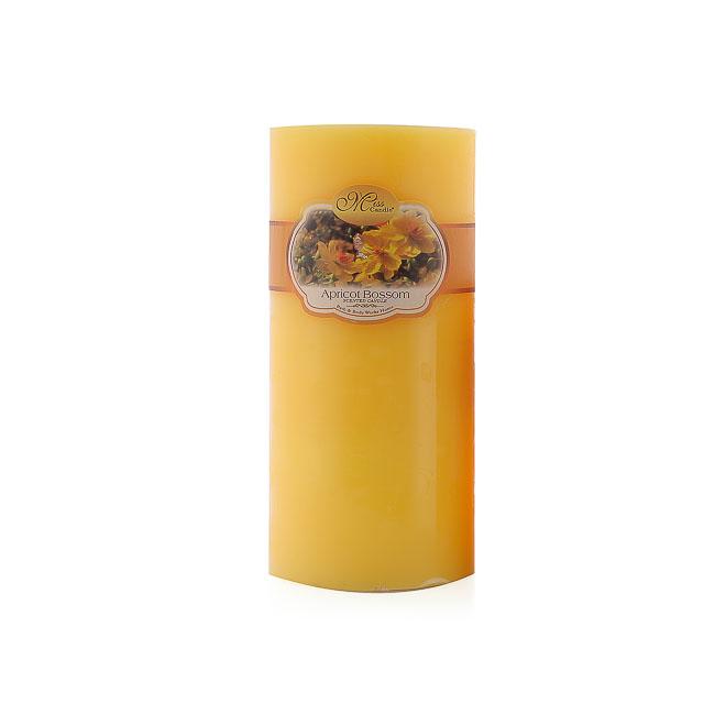 Nến Thơm Trụ Tròn Hương Hoa Lan D7H15 Miss Candle MIC0277 (7 x 15 cm)