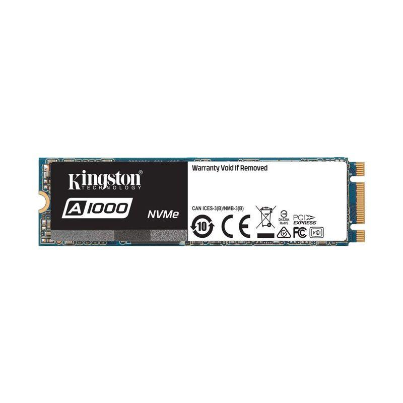 Ổ cứng SSD Kingston A1000 PCIe Gen3 x2 NVMe M.2 240GB SA1000M8/240G- Hãng Chính Hãng