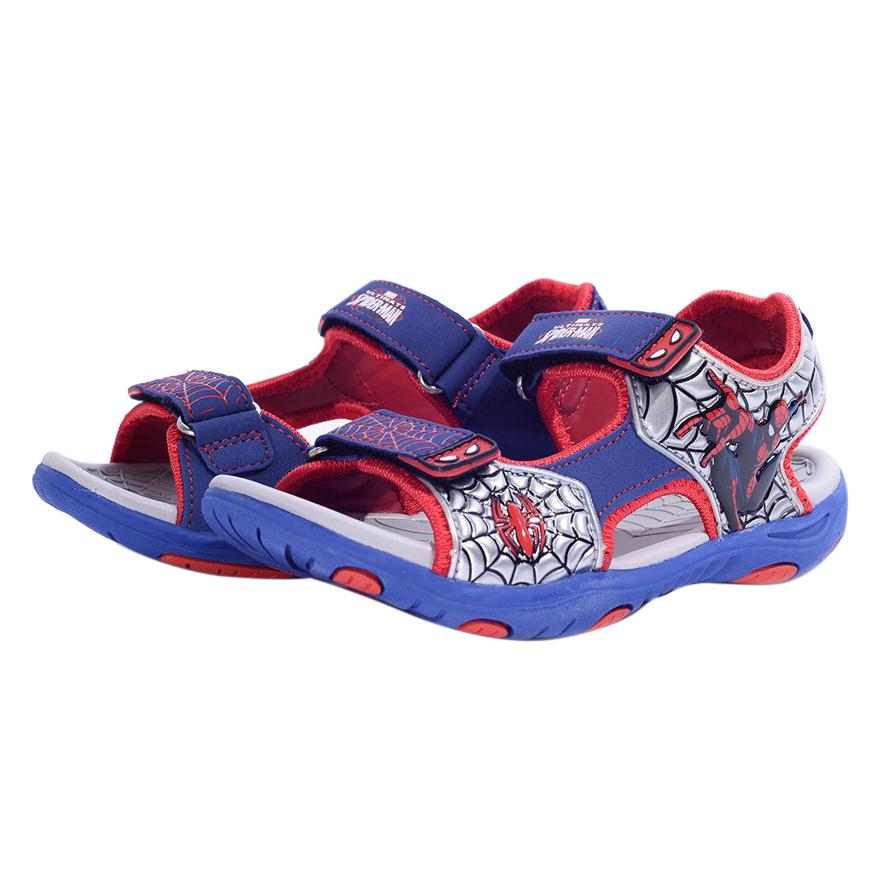 Giày Sandal Bé Trai Biti's Người Nhện DRB023211XDG - Xanh Dương