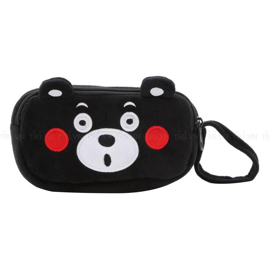 Bóp Viết Vải Bông Thanh Trà 4008-Gấu Panda