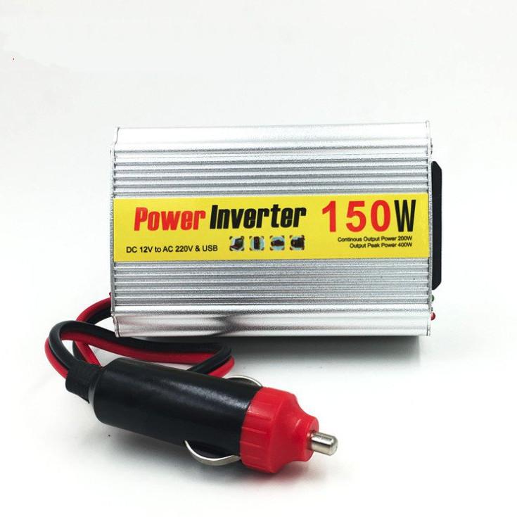 Chuyển nguồn 12v ra 220v 150W cho ô tô - Power Inverter 150w DC 12v to AC 220v