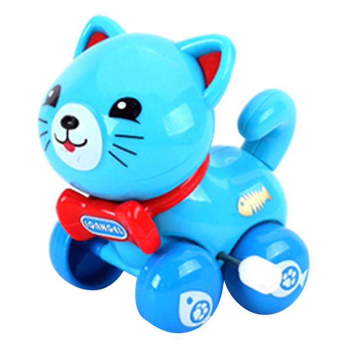 Đồ Chơi Xe Dây Cót Mèo IQ Angel - 630