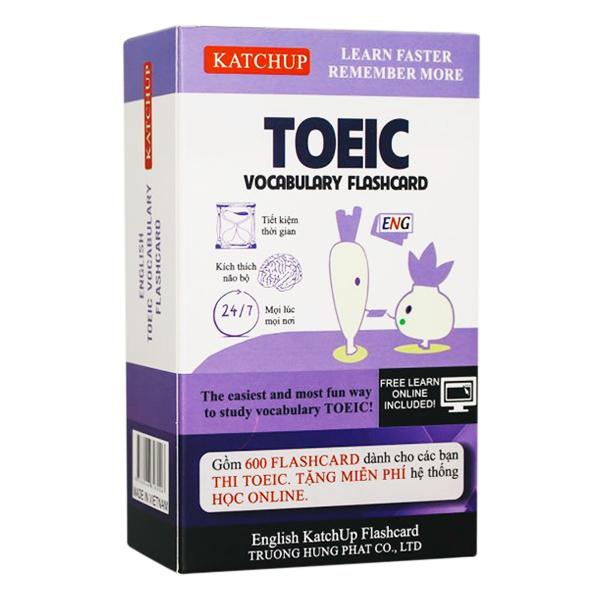 Bộ KatchUp Flashcard TOEIC - High Quality - Trắng (01T)