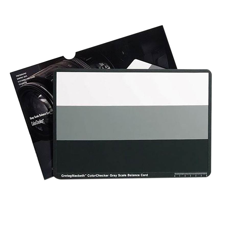 Thiết Bị Cân Bằng Màu X-Rite Colorchecker M50103 Grayscale - Hàng Chính Hãng