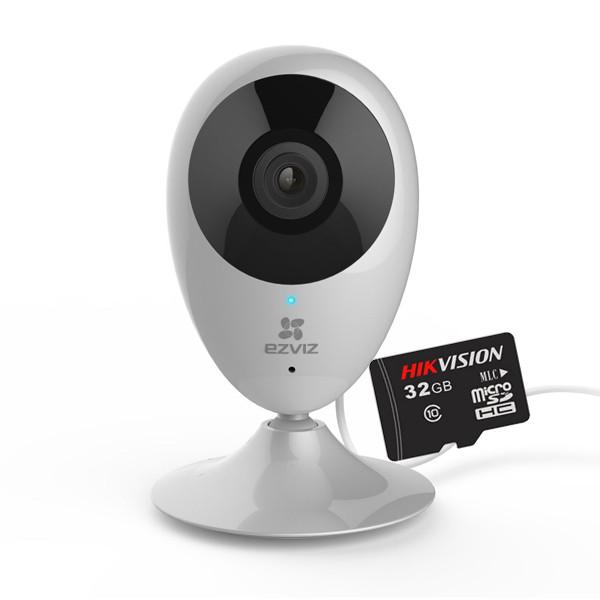 Combo Camera IP Wifi Ezviz C2C 1080p + Tặng thẻ nhớ Hikvision 32GB
