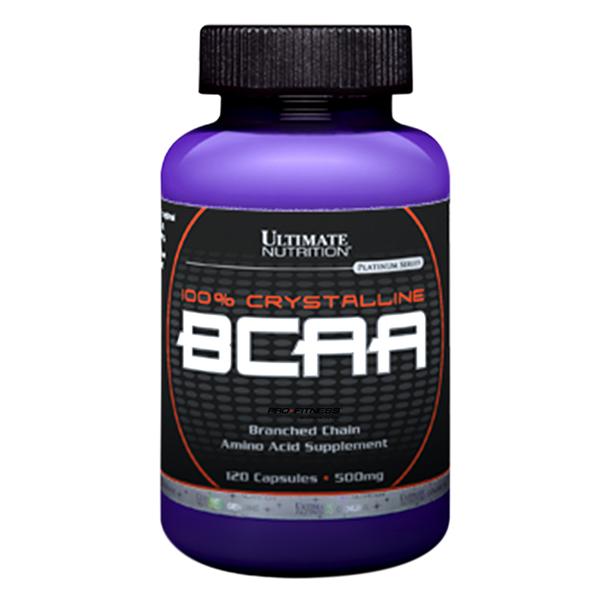 Viên Uống Tăng Sức Mạnh Và Sức Bền 100% Crystallie BCAA Ultimate Nutrition SMUN405 (120 Viên)