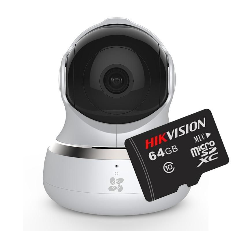 Camera IP Wifi Ezviz C6B (CS-CV240-B0-21WFR) + Tặng thẻ nhớ Hikvision 64GB