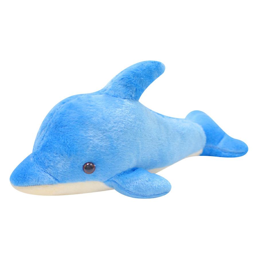 Cá Heo Nhồi Bông - 50 cm - Xanh Biển