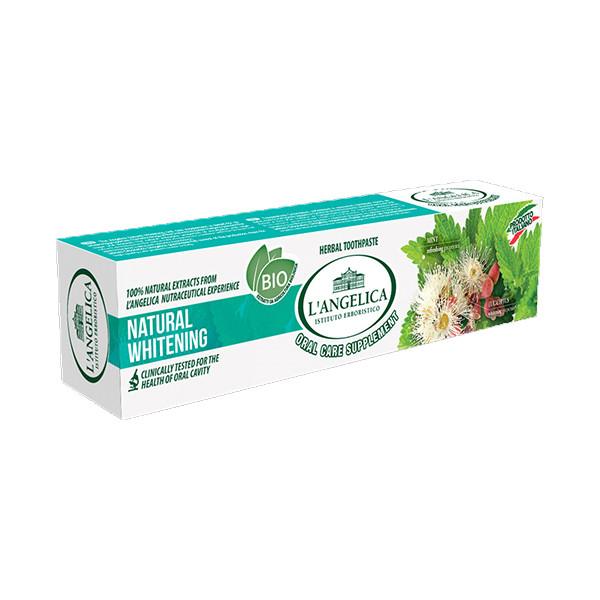 Kem Đánh Răng L'Angelica Toothpaste - Natural Whitening - Trắng sáng tự nhiên