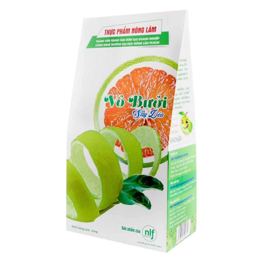 Vỏ Bưởi Sấy Dẻo Nong Lam Food BDH200 (200g)