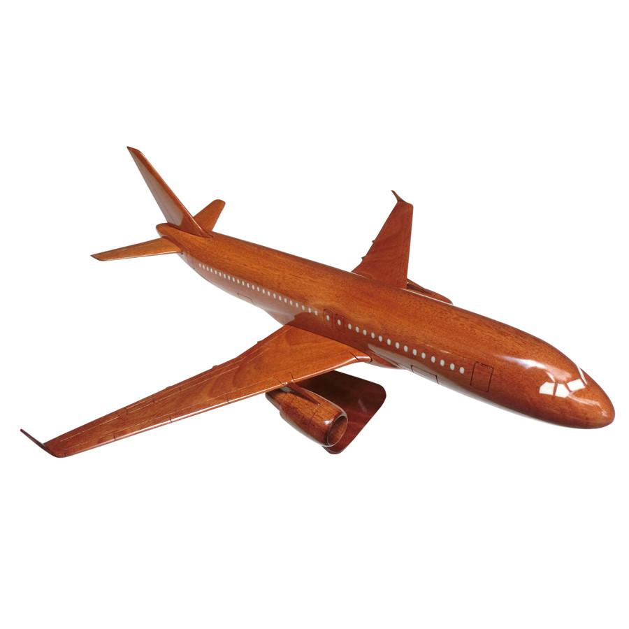 Mô hình máy bay gỗ Airbus A320 - Size Lớn
