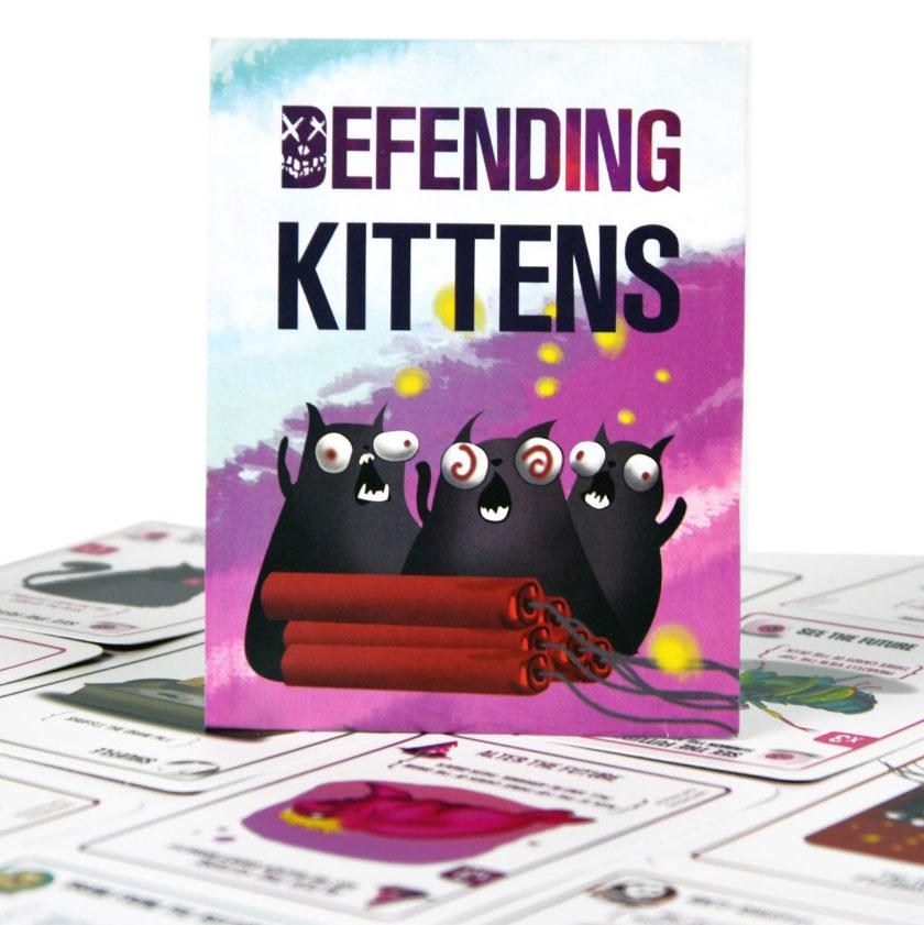 Boardgame Bài Mèo Nổ Mở Rộng 1 - Defending Expansion
