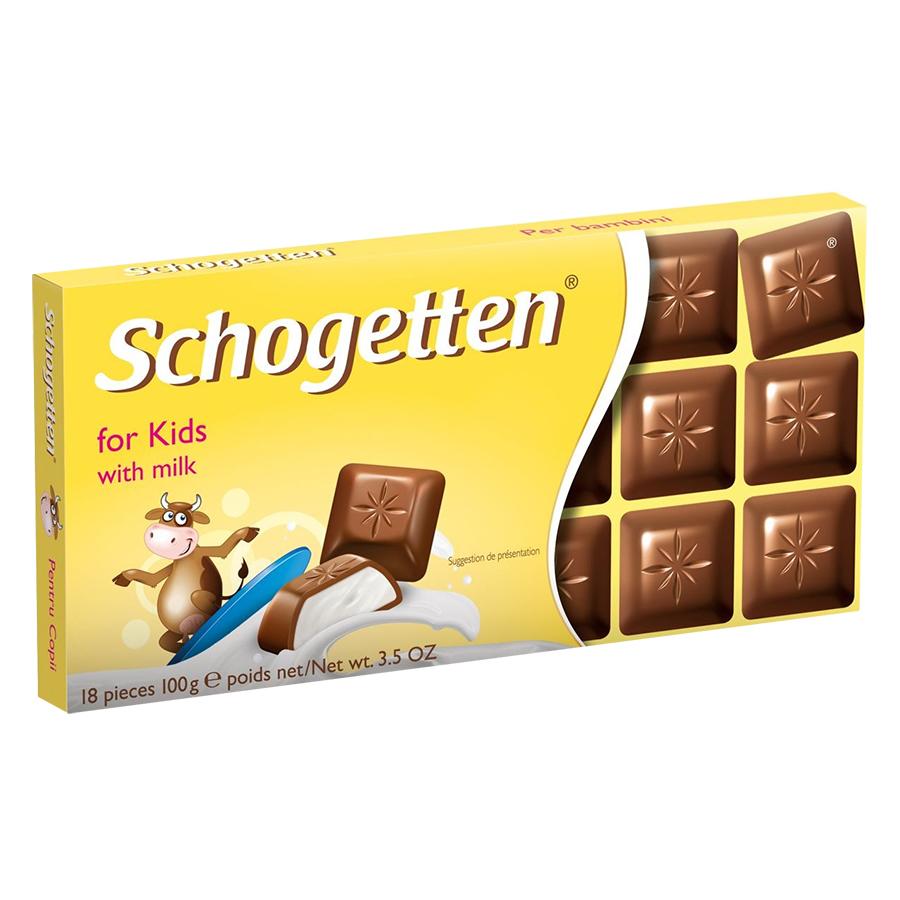 Sôcôla Thanh Ludwig Schokolade 13 Vị Schogetten For Kids MM13F (100g)