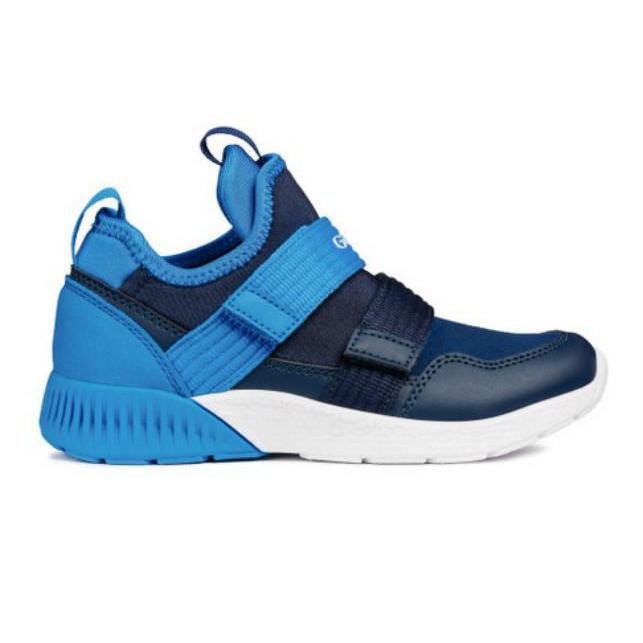 Giày Sneakers Bé Trai J Sveth B. Geox - Navy/Lt Blue