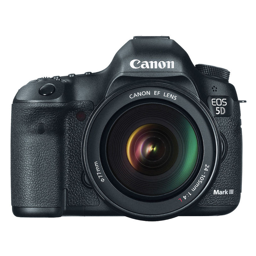 Máy Ảnh Canon 5D Mark III Kit 24-105mm F4L IS (Hàng Chính Hãng) - Tặng Thẻ 16G + Túi Máy + Tấm Dán LCD