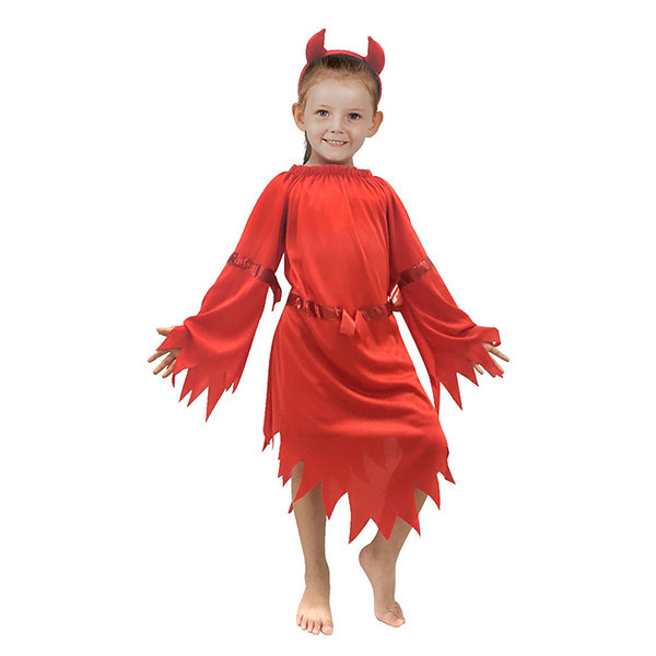 Bộ Đồ Hóa Trang Ác Quỷ Halloween Uncle Bills UH00793 - Đỏ