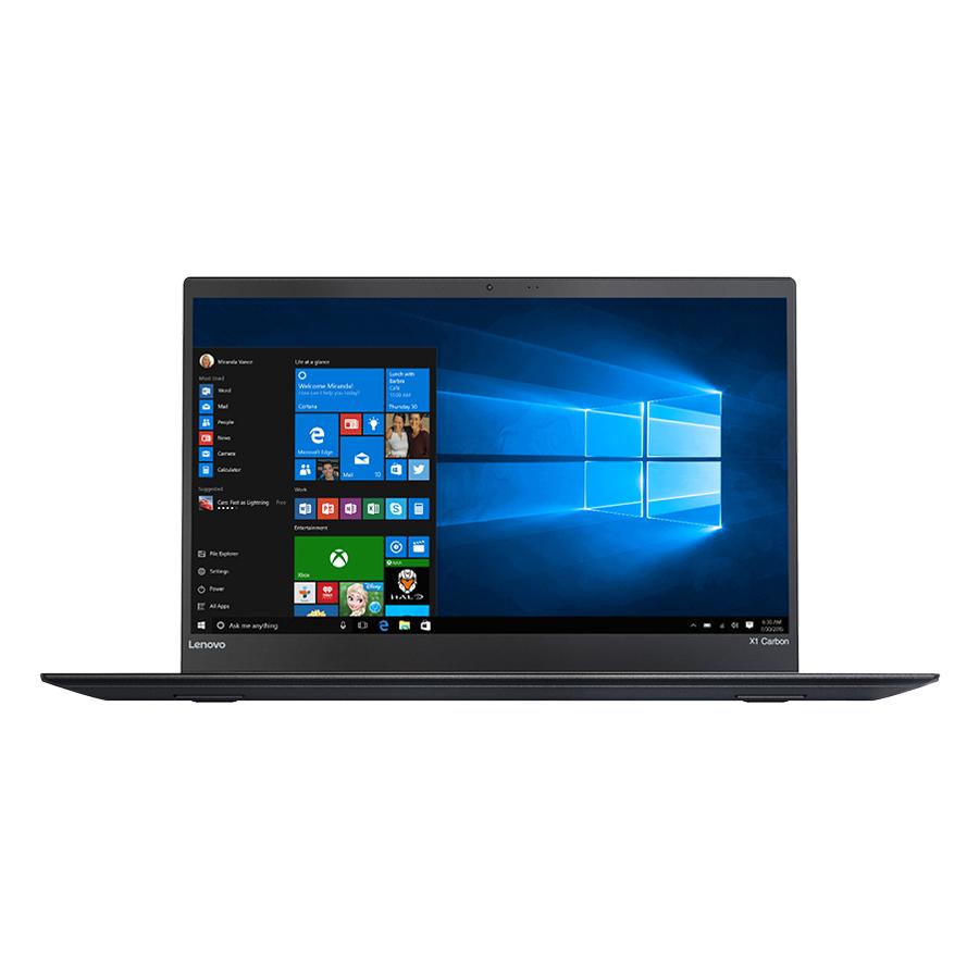 Laptop Lenovo ThinkPad X1 Carbon 5 20HQA0EXVN Core i7-7500U/Win10 Pro (14inch) - Hàng Chính Hãng