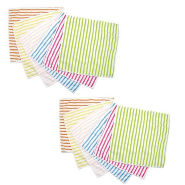 Combo 2 set 6 khăn lau đa năng nội địa Nhật Bản