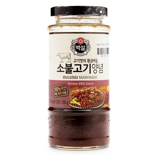 Sốt Ướp Thịt Bò BBQ Hàn Quốc Beksul 290 Gr