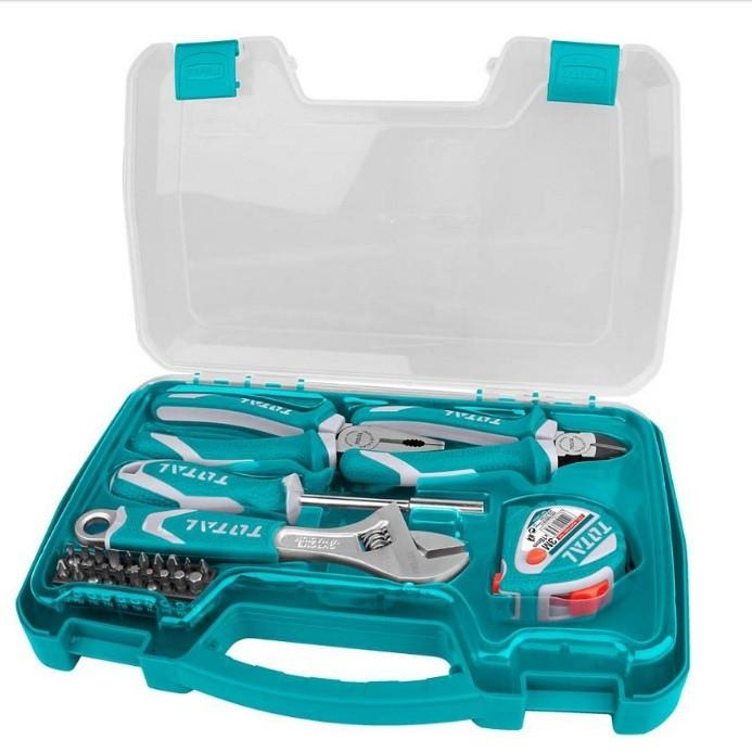 Bộ đồ nghề dụng cụ cầm tay 25 món Total THKTHP90256
