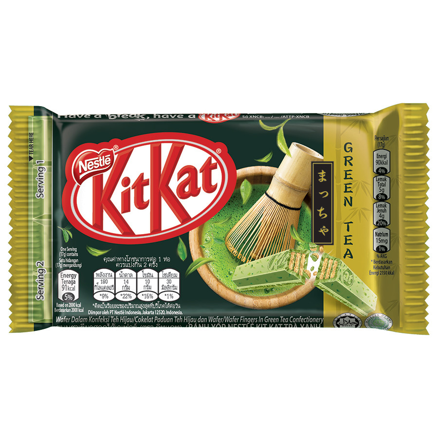 Socola KitKat Trà Xanh 4F (34g)