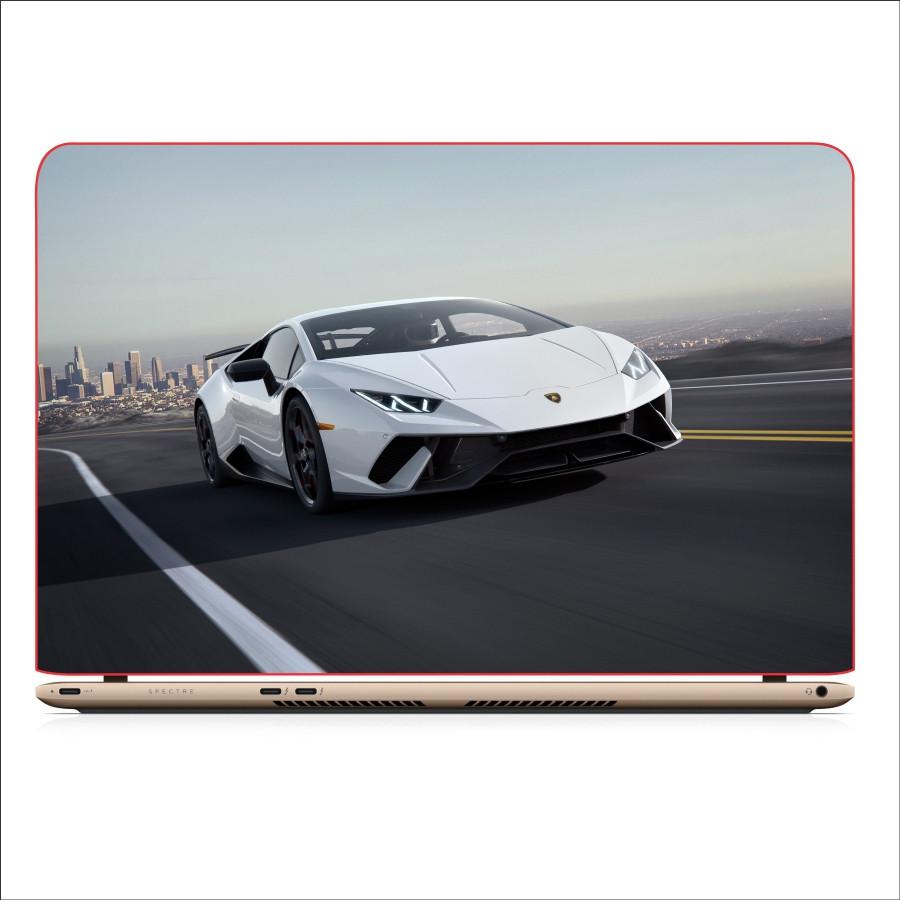Miếng Dán Skin In Decal Dành Cho Laptop - Siêu xe Lamborghini 2