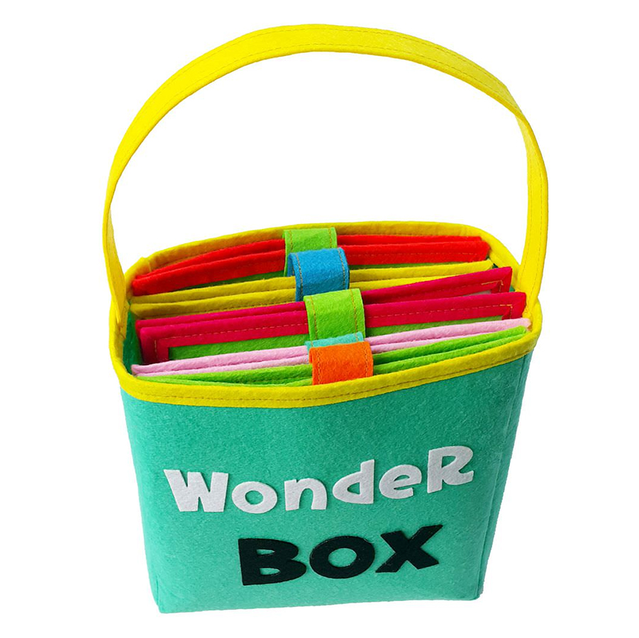 Sách Vải Kid Wonder Box (Bé 3 - 6 Tuổi)