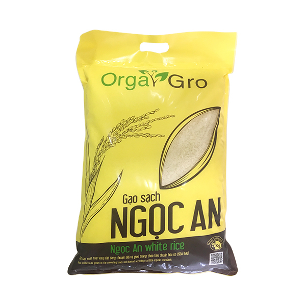 Gạo sạch Ngọc An - OrgaGro 5kg