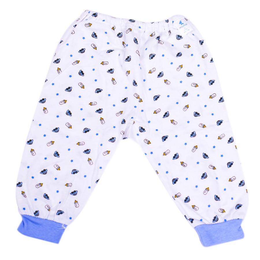 Set 5 quần dài sơ sinh bo gấu MIOMIO