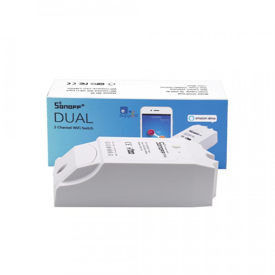 Sonoff Dual - Công tắc WiFi thông minh điều khiền 2 thiết bị