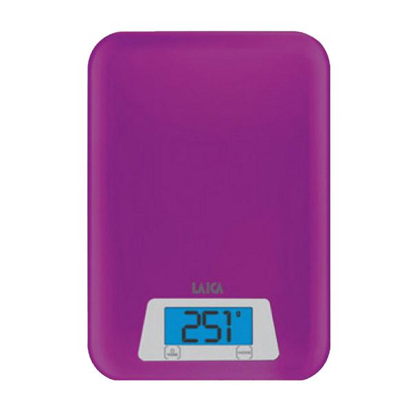 Cân dinh dưỡng nhà bếp đo Trọng lượng và Thể tích nước - LAICA KS1023 - Màu Tím - ITALY