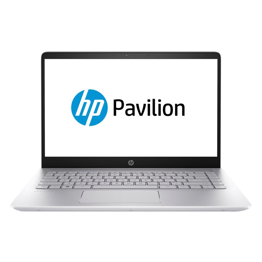 Laptop HP Pavillon 14-bf017TU 2GE49PA Core i5-7200U/Dos (14 inch) - Bạc - Hàng Chính Hãng