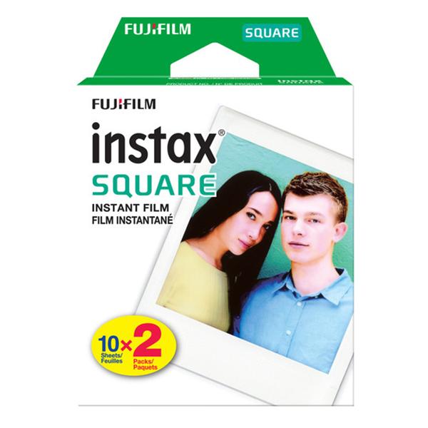 Hộp Phim Fujifilm Instax Mini Square (20 Tấm)